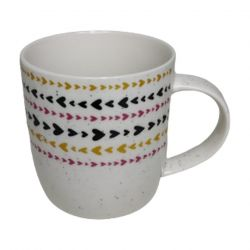 CANECA EM CERAMICA GOOD MORNING 400ML